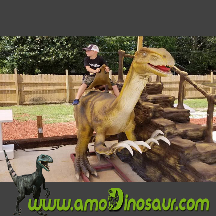 animatronic dinosaur ride for amusement park