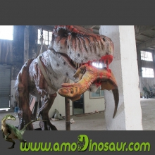 Jurassic Amusement Park Playground Equipment T-rex animatronic dinosaur