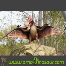 High quality life size dinosaur pterosaur statue