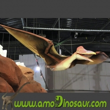 Hot sell !garden decoration dinosaur pterosaur statue